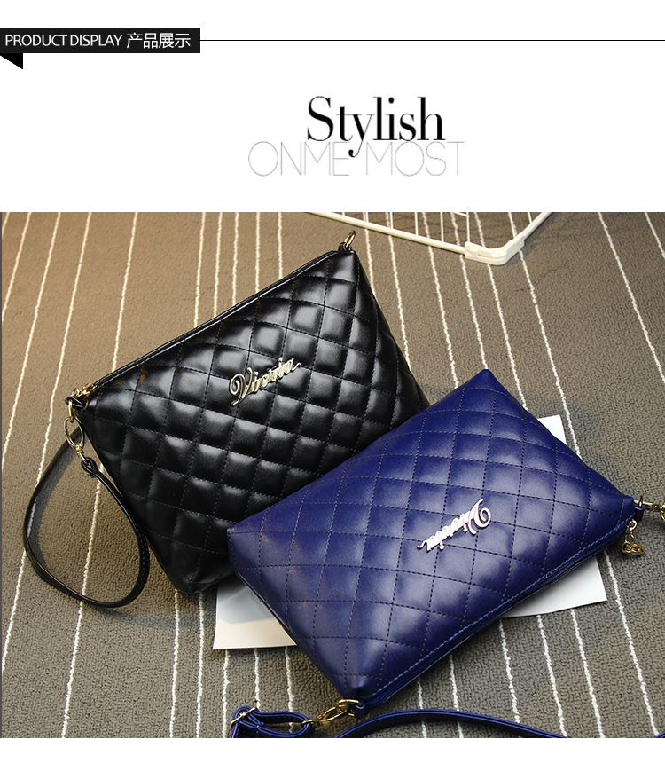 High Quality Women Diamond Lattice Messenger Bag Women's Day Clutch Bag Ladies Small Evening Party Bags Cute Small Shoulder Bag