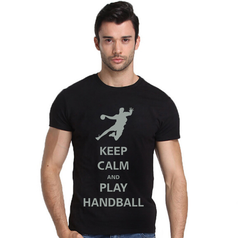 product Play Handball Design Fashion Men's Heavyweight T-Shirt Big And Tall Size For Men