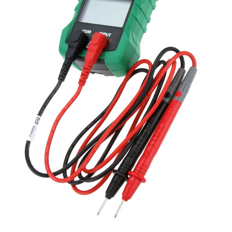 MASTECH MS2015A AutoRange Digital AC 1000A Present Clamp Meter True RMS Multimeter Frequency With Non-contact Voltage Detector