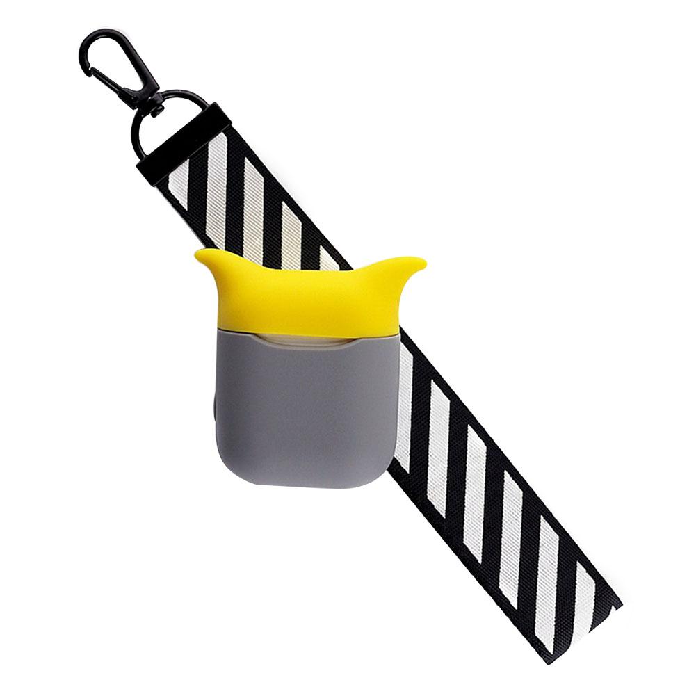 Милый силиконовый чехол защита от ударов при падении для Airpods наушники сo шнуром aeProduct.getSubject()