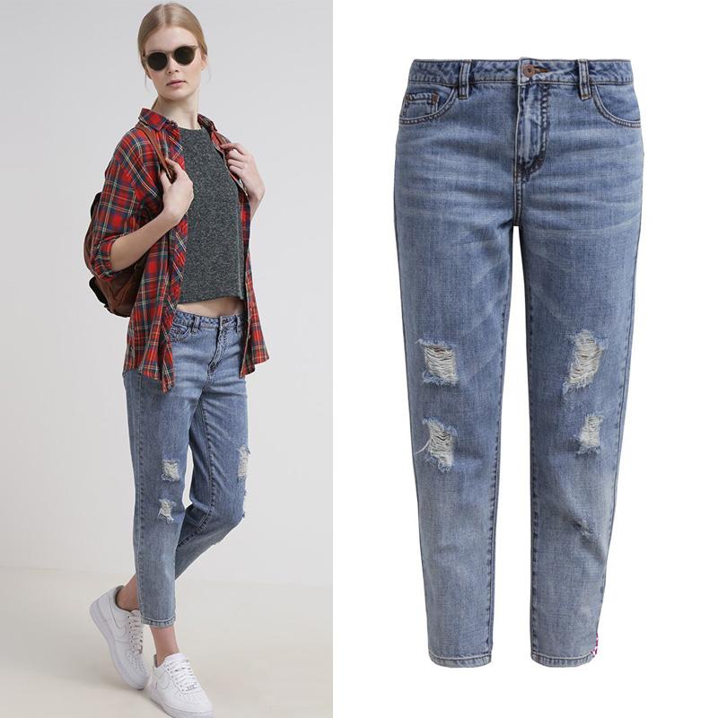 2015 hohe taille plus size jeans frauen d nn bleistift. Black Bedroom Furniture Sets. Home Design Ideas