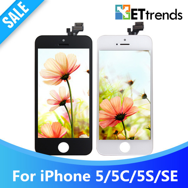 10PCS/LOT Grade AAA No Dead Pixel LCD screen for iPhone 5/5S/5C/SE LCD Display Touch Digitizer Assembly DHL free Shipping(China (Mainland))