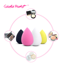 2016 1pc Foundation Makeup Sponge makeup Blender Blending Cosmetic Puff Powder Smooth Beauty Make Up Tool14 colors to choose