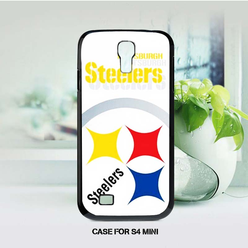Simple Steelers Series Top Quality In Fashion Plastic Digital Product Housings Cases for Samsung s4 mini(China (Mainland))