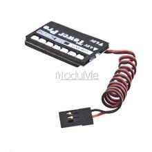 New Arrival RC Model 7 LED Receiver Battery Voltage Indicator Monitor Car 7led 4.8/6V(China (Mainland))