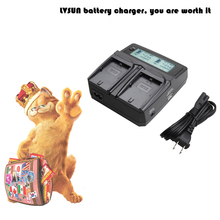 LVSUN LP-E6 LP E6 LPE6 Camera Battery Charger SONY CANON EOS 5DS R 5D Mark II III 6D 7D 60D 60Da 70D DSLR - USB store