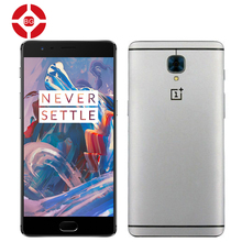 Original Oneplus 3 6GB RAM 64GB ROM Mobile Phone Snapdragon 820 5.5 inch 1920x1080P 16MP Camera 4G LTE Fingerprint ID Dash Charge - BrotherGroup store
