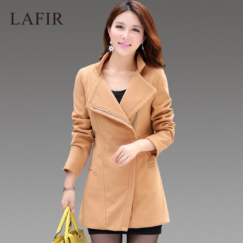 aliexpress 2015 winter coat women fashion solid color slim long manteau femme plus size clothing l - Manteau Femme Color