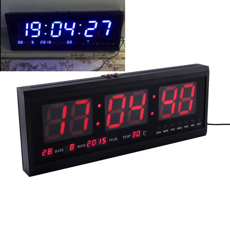 Online Buy Wholesale Big Time Digital Wall Clock From