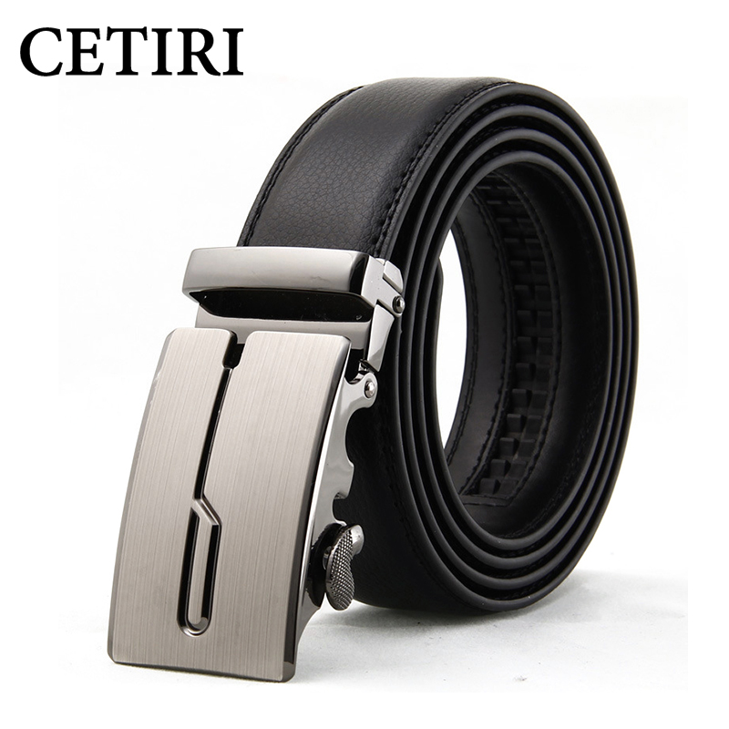 Mens Designer Belts 2017 Real Genuine Leather Automatic Buckle Male Waistbands Belts Luxury Ceinture Homme Luxe Marque Promotion(China (Mainland))