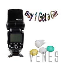 Buy Special buy 1 get 1 gift !! TR-960 III Wireless Flash Speedlite work Canon Nikon Olympus DSLR Camera Universal slave Flash for $52.99 in AliExpress store