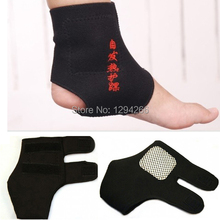2Pairs Magnetic Therapy Spontaneous Self-heating Ankle Brace Support Belt Foot Health Care 4xDf