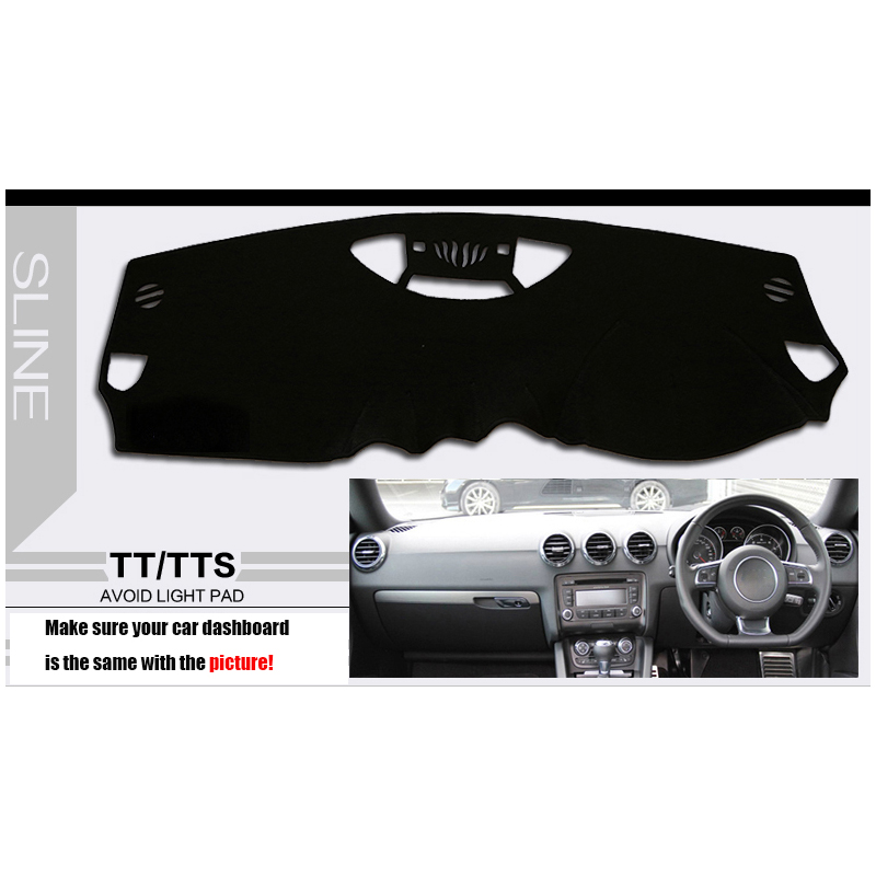 Brand New Car Dashboard Cover for AUDI TT TTS DASH COVER MAT Right Hand Driver(China (Mainland))