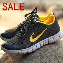 AliExpress |Promotional Discounts New Lightweight Breathable Mesh Of Men Casual Shoes Sneakers Adult Sports Shoes Men's Shoe 2014 Hot Sale