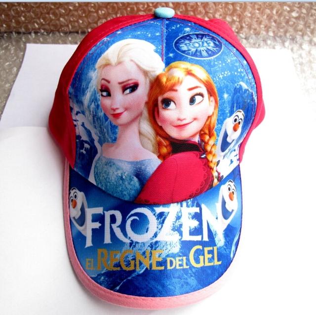 Новый 1 шт. популярные эльза анна принцесса регулируется шляпа для девушки юноши ...