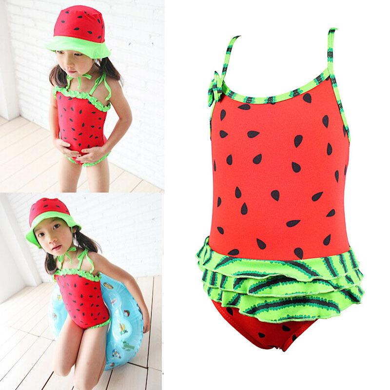 Закрытый купальник для девочек No 1/5 Tankini Kids Swimsuit