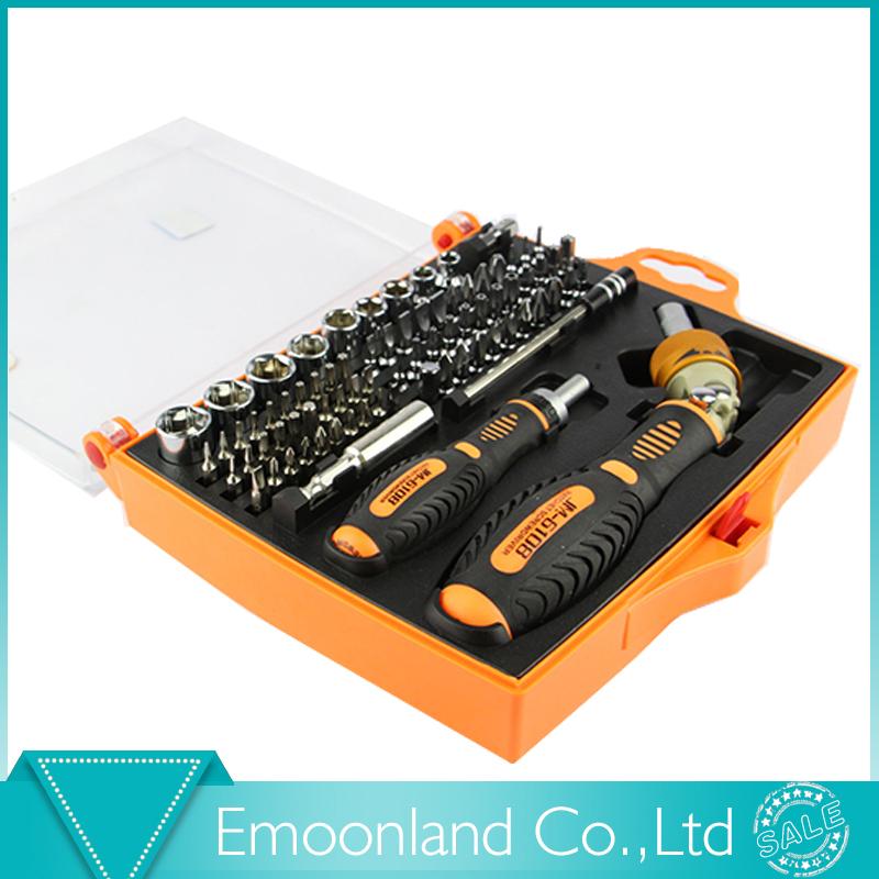 Magnetic Screwdriver 79in1 JM-6108 ratchet screw driver bits set kit computer PC phone ferramentas repair tool(China (Mainland))