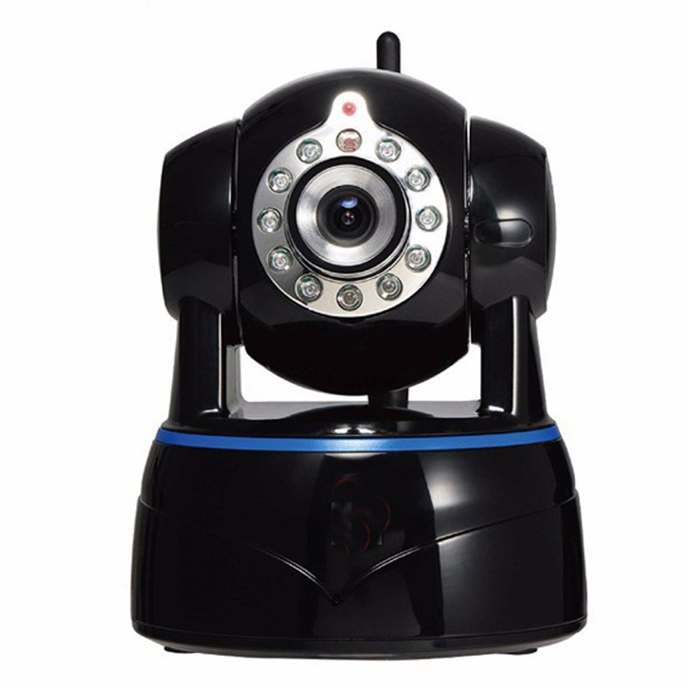 IR IP Camera P2P Wireless Remote Control 4.2MM Lens Pan Tilt IP Indoor Security Camera with Two-Way Audio Network Camera Wifi(China (Mainland))