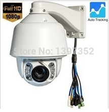Support Wiper Support Hikvision 1080P Security Auto Tracking PTZ IP Camera Sony Effio 30X zoom Onvif POE Optional IP PTZ IP66