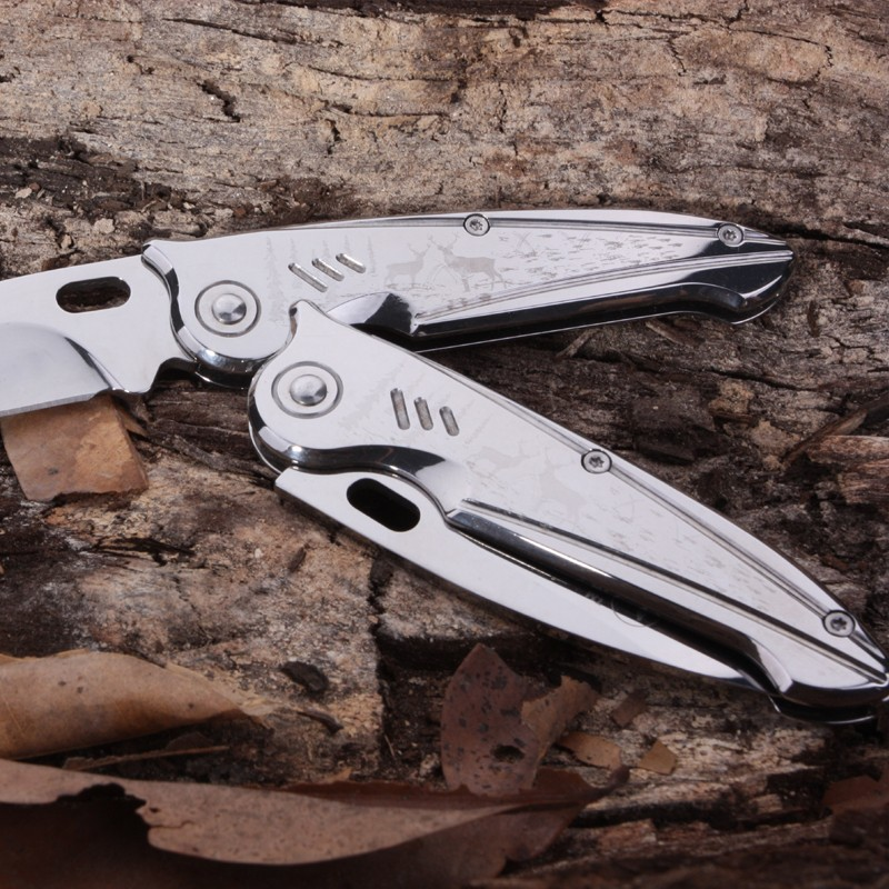 Buy survival tactical folding knife pocket knife credit card tool mini knives rescue hand tools keychain small Wallet camping knives cheap