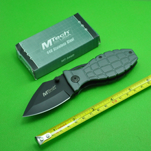 Hot Salle! Gray Folding Knife Outdoor Survival Survival Hunting Knives Pocket Knife Free Shipping