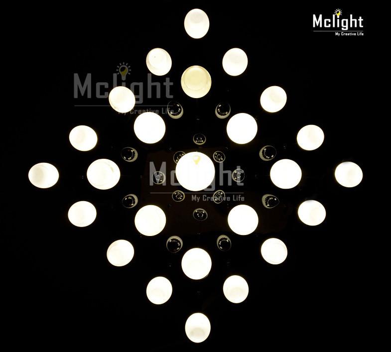 led ceiling light fixture large led lustre lamp for stairs. Black Bedroom Furniture Sets. Home Design Ideas