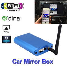 Wi-Fi Display Car Standard Airplay media Dongle Miracast Allshare Cast Screen Mirroring Car Audio & Video Mirrorlink Mirror Box(China (Mainland))