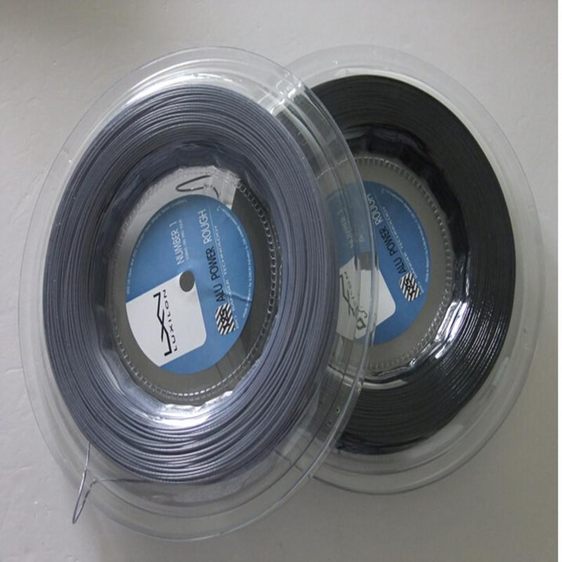 2016 Hot  sale ALU Rough 125 200M tennis string brand tennis string/co-polyester tennis string
