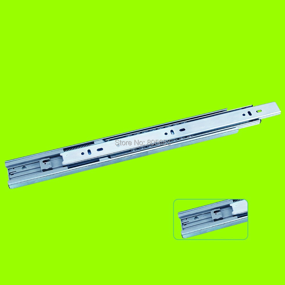 top quality super smooth buffering full-extension drawer slide soft closing 20inch (DS1311-20)(China (Mainland))