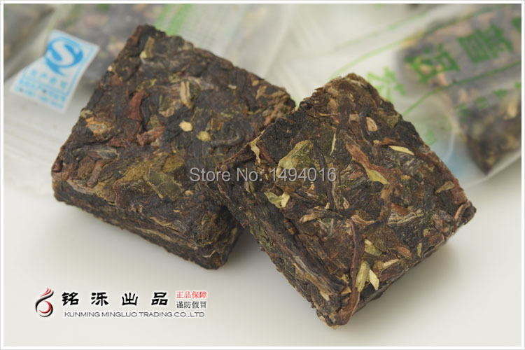 20pcs bag 100g free shipping made in 2013 100g 2 years old Ripe Shu YunNan Chinese