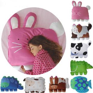 Animal Shaped Pillow Cases : Aliexpress.com : Buy Cute Cartoon Animal Shape Children Pillow case car kids pillow cushions ...