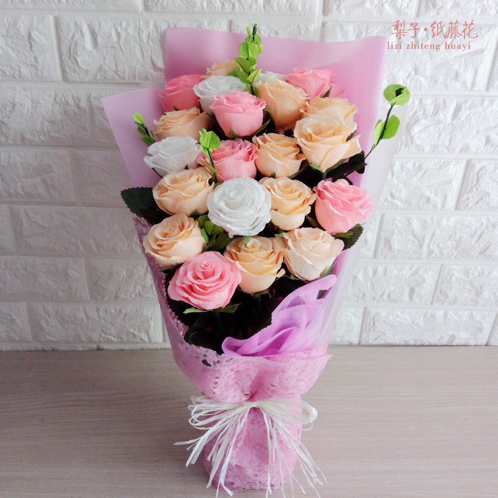 Compare prices on crepe paper roses online shopping buy