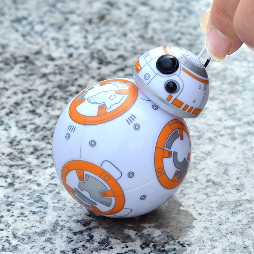New Hot Star Wars The Force Awakens BB8 BB-8 Droid Robot Tumbler Star Wars Action Figure Model Toys For Children Doll Collection