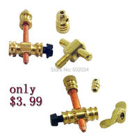 Freeshipping 2sets/Lot Copper Tattoo Machine Gun Parts Front Contact Binding Post Combination lock Tattoo accessories supplies