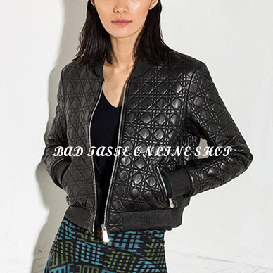 Womens leather bomber jacket – Modern fashion jacket photo blog
