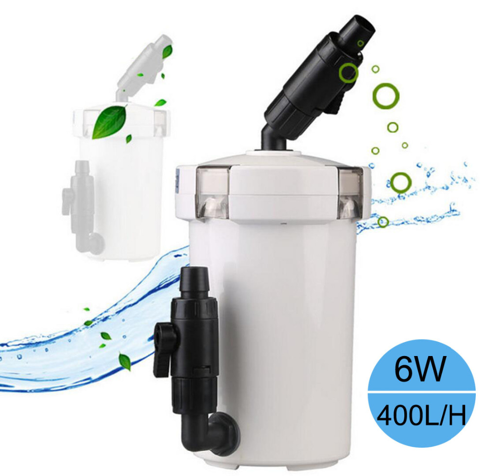 Aquarium fish tank external filter ef 1 1000l h - Aquarium Filter Ultra Quiet External Aquarium Filter Bucket Hw 602b Hw 603b Fish