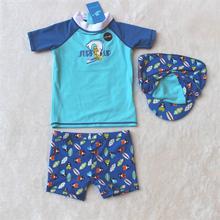 0-3Y 2016 Baby Swimwear Children Swimsuit Split Kids Boys Swimwear Tops Swimming Trunks Boy Swimsuit For Kid Bathing Suit Bather(China (Mainland))