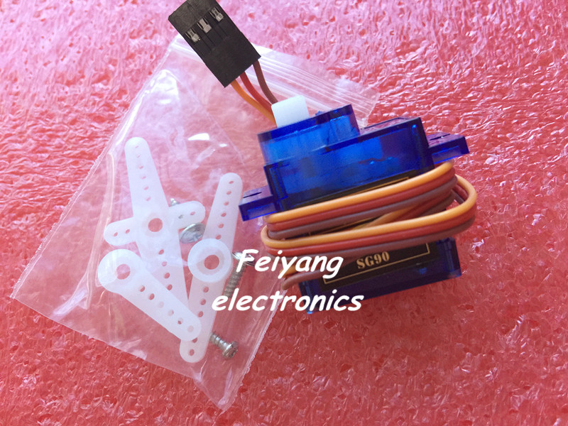 Rc Mini Micro 9g 1.6KG Servo SG90 for RC 250 450 Helicopter Airplane Car Boat(China (Mainland))