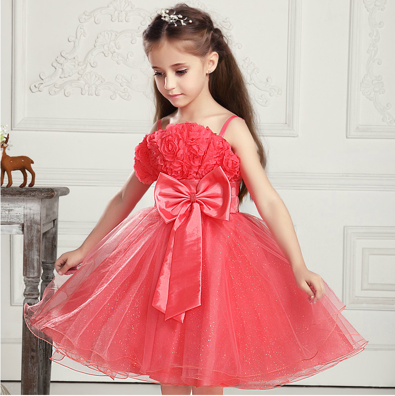 Princess  dress dress s sub flowers show children one generation<br><br>Aliexpress