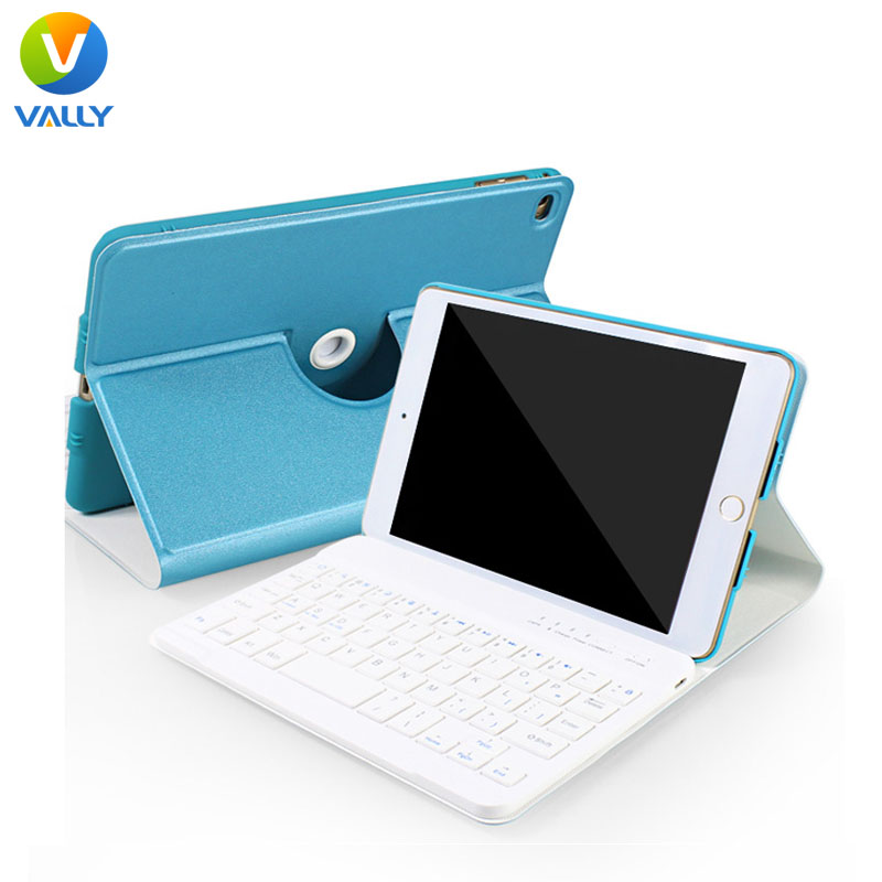 360 Degree Rotating PU Leather Bluetooth Separable Keyboard Case Tablet Stand for iPad Air iPad 5 9.7 inch+Mobile Phone Holder<br><br>Aliexpress