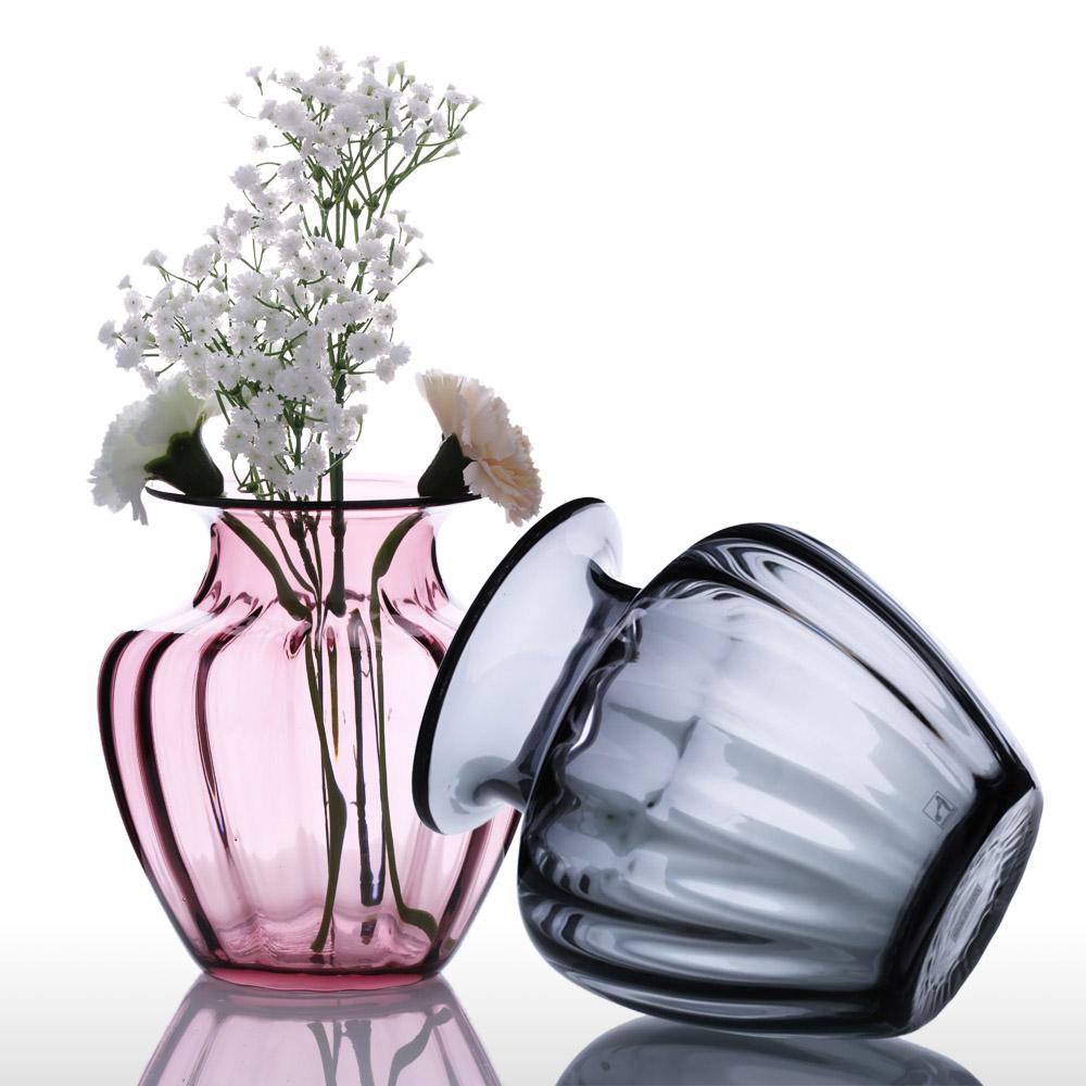 achetez en gros moderne vase en verre en ligne des grossistes moderne vase en verre chinois. Black Bedroom Furniture Sets. Home Design Ideas