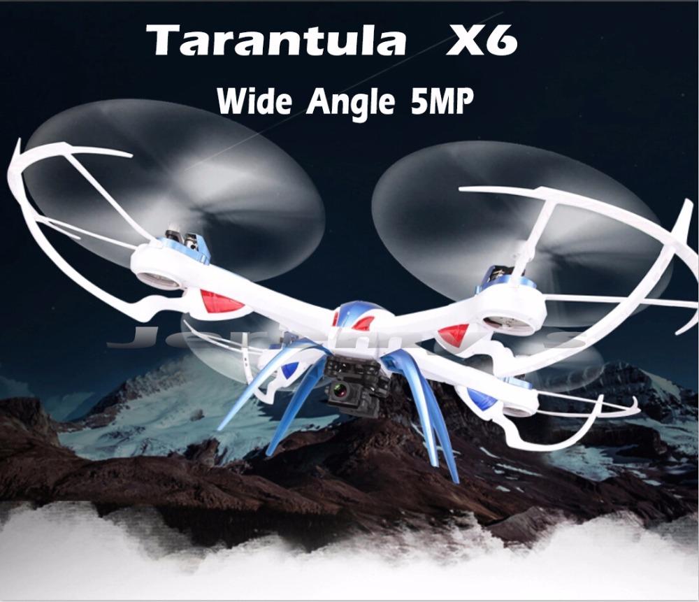 Drone Tarantula JJRC H16 YiZhan Tarantula X6 Wide Angle 5MP Camera RC Quadcopter Helicopter With IOC RTF 2.4Ghz H1080P HD Camera(China (Mainland))
