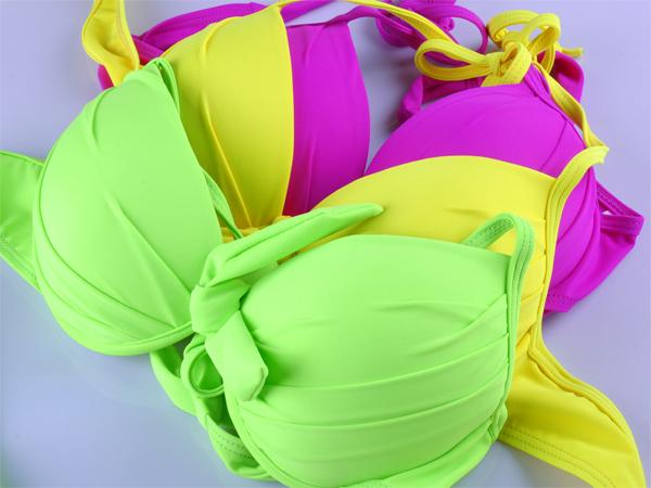 2015 New Women's Swimwears Bikini Set Secret Fashion Swimsuit Sexy Big Breast Push Up 2 Pieces Beach Bathing Dress Biquini(China (Mainland))