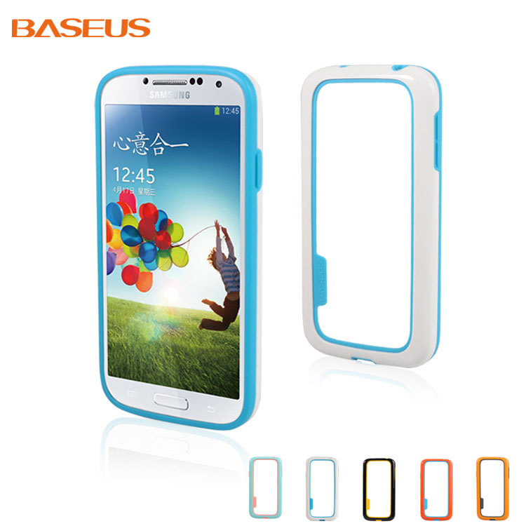 2014 Special Offer Real Luxury Shockproof Falling Bumper for Samsung S4, for Galaxy S4 Colored Fashion Tpu Cover,free Shipping(China (Mainland))