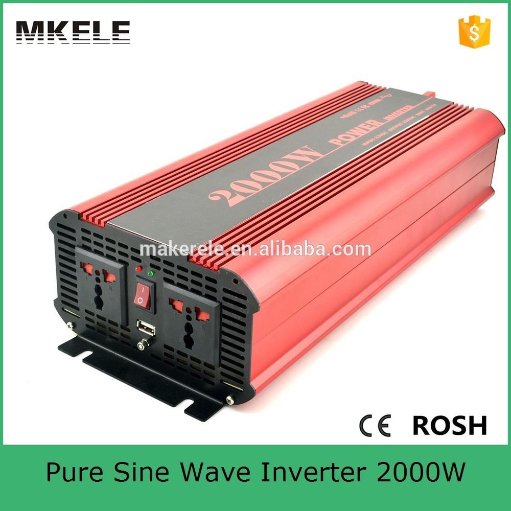 MKP2000-122R high efficiency dc to ac pure sine wave power inverter 12v 220v 2000w power inverter for household<br><br>Aliexpress