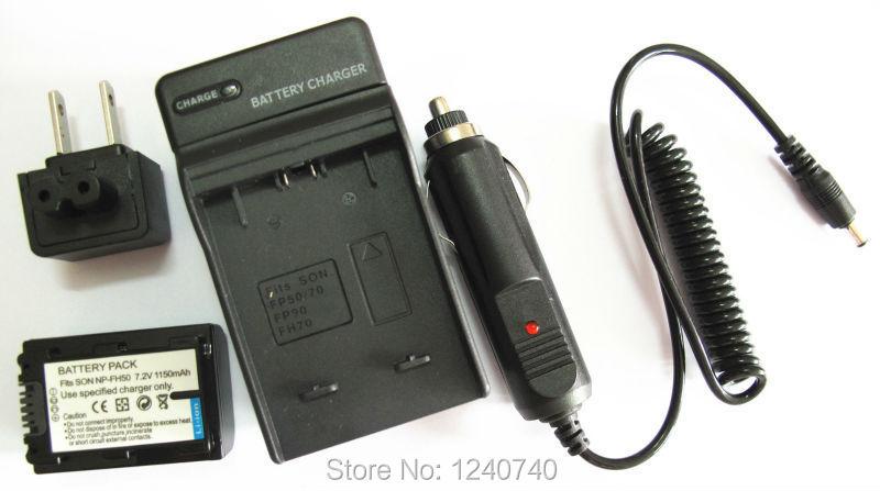 Аккумулятор Unbranded/Generic + Sony np/fh50 bc/vh1 Sony dsc/HX100v HX1 dscHX100v dsc/hx200v DSCHX200V DCR-DVD308 2pcs battery charger np fh50 rechargeable camera battery bateria sony np fh50 dcr dvd dcr hc fh30 fh40 tg3 tg5 tg7 dsc hx1