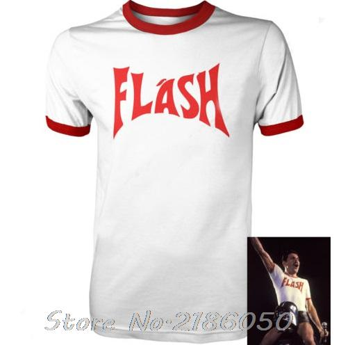 FREDDIE MERCURY FLASH GORDON QUEEN ROCK BAND TSHIRT RETRO HIP HOP FANCY DRESS 80's Top Tee Front&Back Printing Men's T-shirt(China (Mainland))