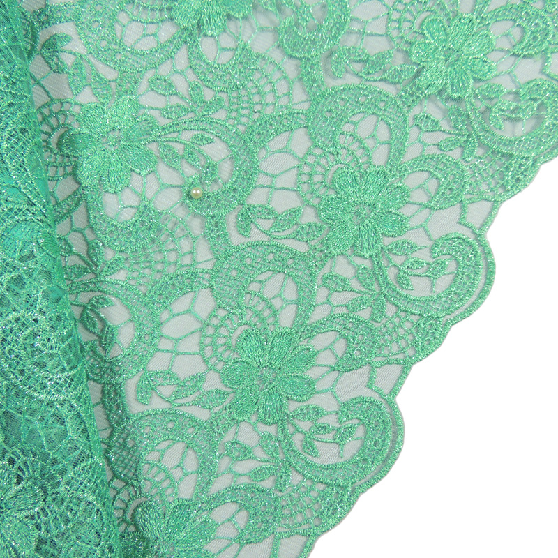 2016 Free Shipping! High quality african lace fabric apple green net lace tulle lace fabric 168b2020b20-T(6)(China (Mainland))
