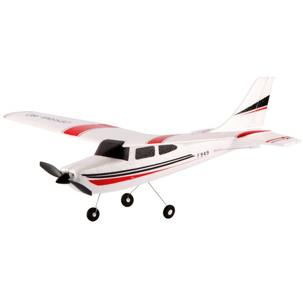 WLtoys F949 Mini Drone Cessna 182 2.4G 3CH RC Aircraft Fixed-wing RTF RC Helicopter(China (Mainland))