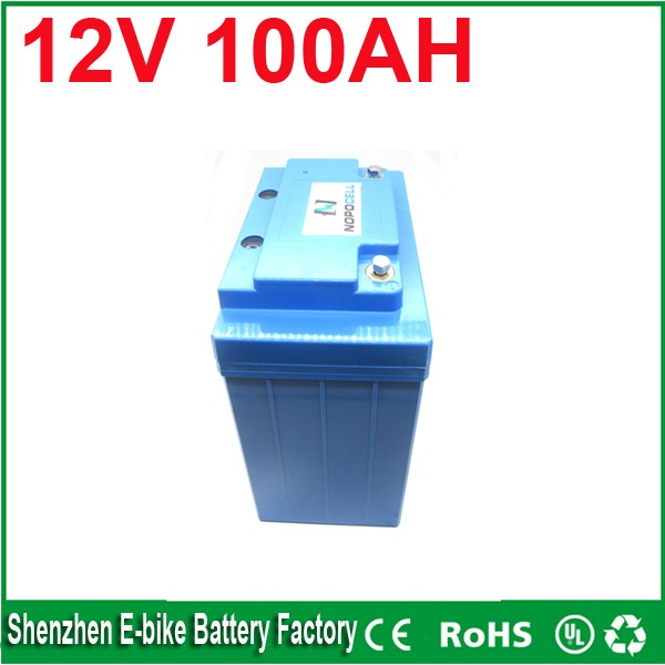 Free Shipping China manufacturer Maintenance Free lead acid deep cycle AGM battery 12v 100ah backup battery for solar system(China (Mainland))
